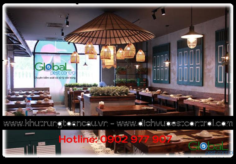Dịch vụ xử lý và diệt Chuột cho nhà hàng, quán ăn